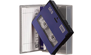 La cassette DAT (digital audio tape)