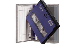 La cassette DAT (digital audio tape)