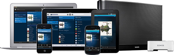 Enceinte sans fil SONOS compatible Android et iPad/iPhone/iPod