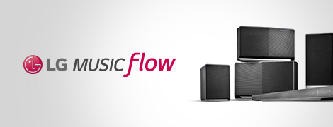 Système audio multiroom LG Music Flow