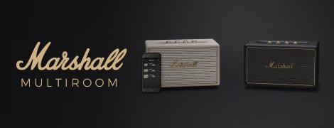 Système audio multiroom Marshall.