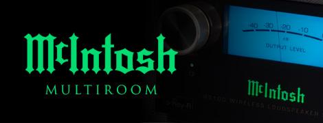 Système audio multiroom McIntosh
