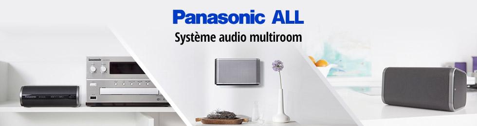 Panasonic SHALL : systèmes multiroom
