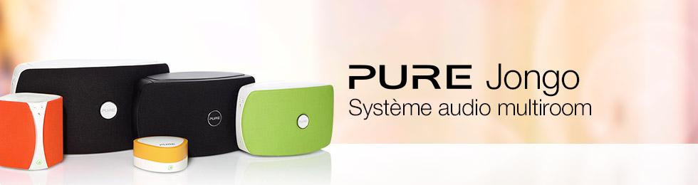 Pure Jongo : systèmes multiroom
