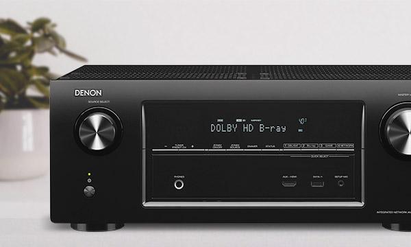 Test :                                                                 Denon AVR-X3000