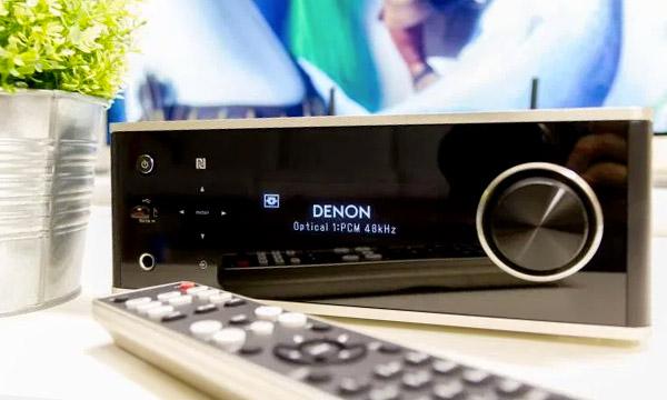 Test :                                                                 Denon DRA-100