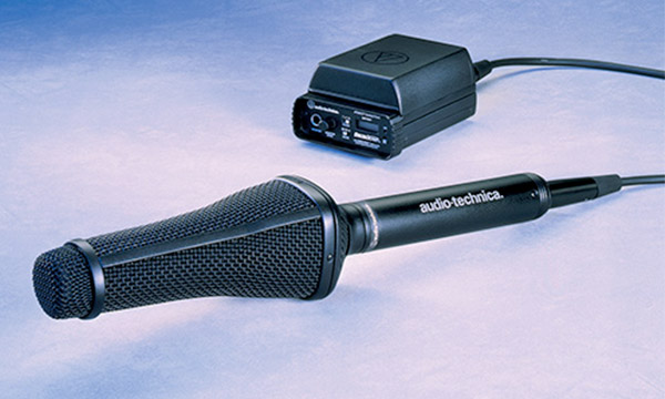 Système de microphone Audio-Technica AT895.