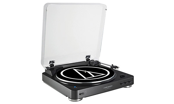 Platine vinyle Bluetooth Audio-Technica AT-LP60BK-BT.