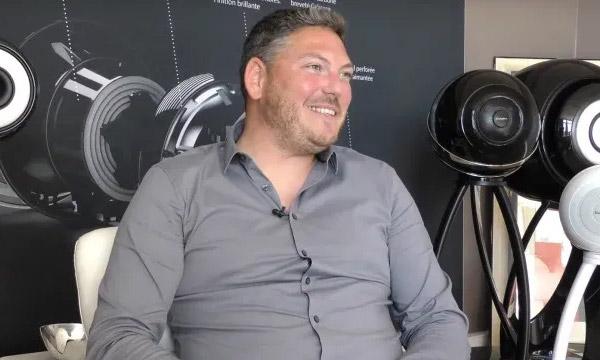 Interview :                                                                         Pierre-Yves Huet, responsable production chez Cabasse