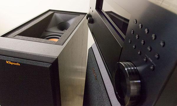 Test :                                                                 Onkyo RZ-900 et Klipsch RP-280FA