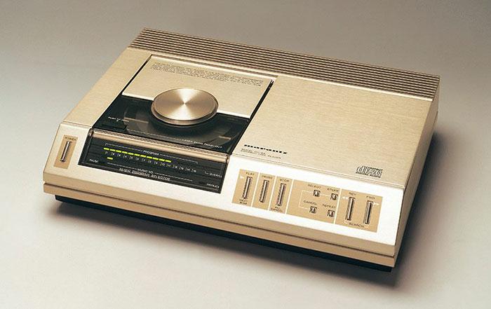 Le lecteur CD Marantz CD-63.