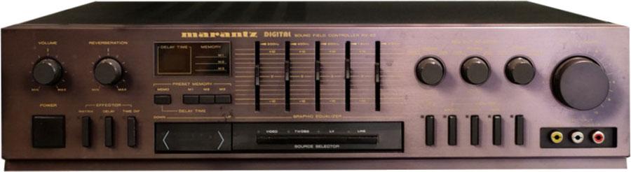 L'ampli home-cinéma Marantz RV-55.