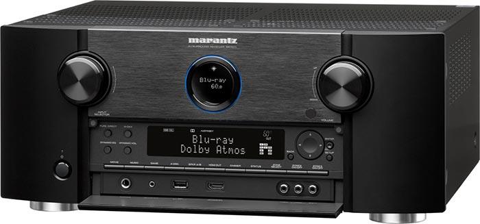 L'ampli home-cinéma Marantz SR7011 compatible avec la technologie de transmission sans fil Denon Heos.