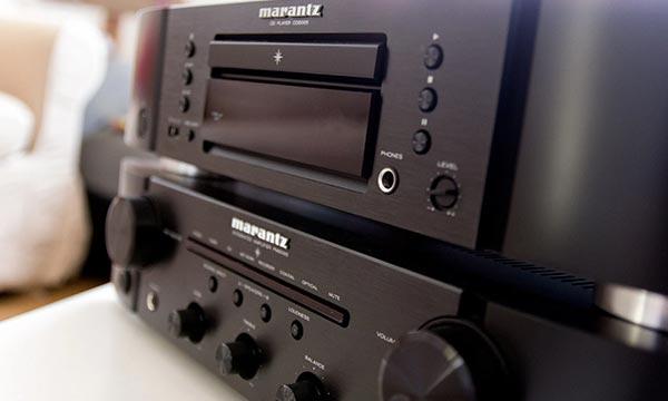 Test : Marantz PM-6005 (avec Marantz CD-6005).