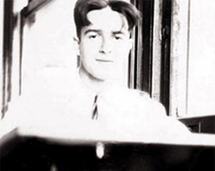 Le jeune Saul Marantz.