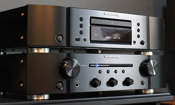 Test :                                                                         Marantz PM-6007 et Marantz CD-6007