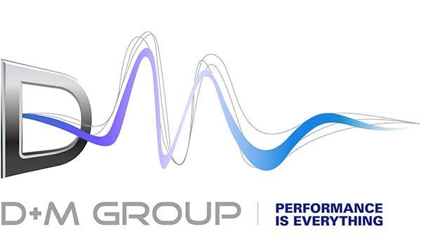 Logo de D&M Holdings.