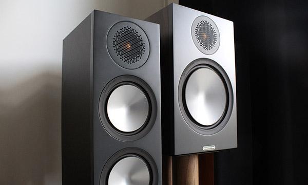 Test :                                                                         Monitor Audio Bronze 100 et Bronze 200