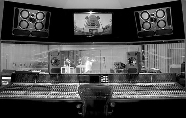 Le Capitol Studio de Los Angeles équipé de moniteurs PMC QB1-A et PMC twotwo.8