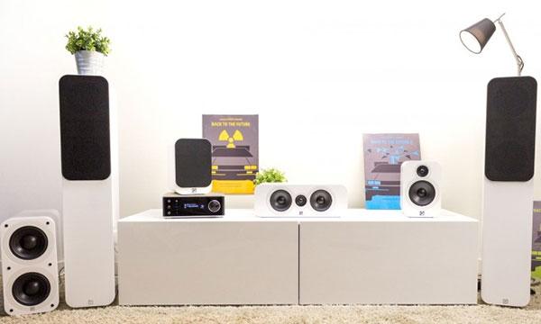 Test :                                                                         Q Acoustics série 3000