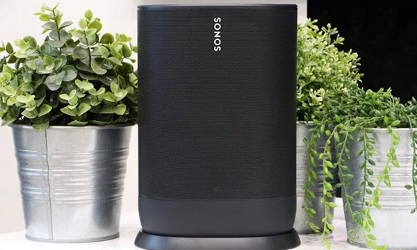 Test :                                                                         Sonos Move