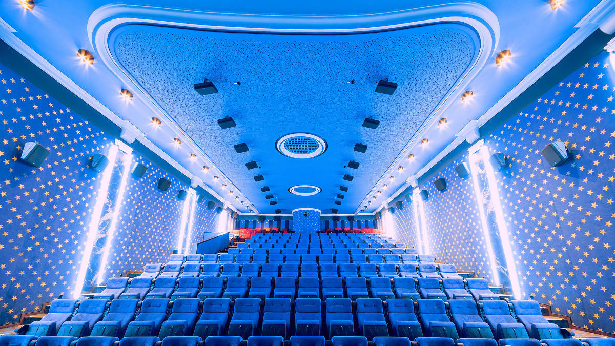 Salle de cinéma Dolby Atmos