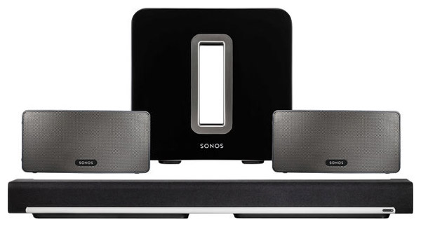 SONOS PLAYBAR, Play et SUB