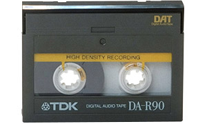 Cassette audio DAT