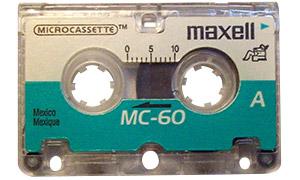 Mini-cassette