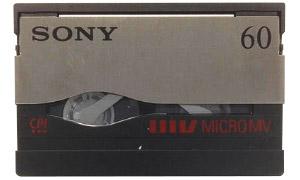 Cassette MicroMV