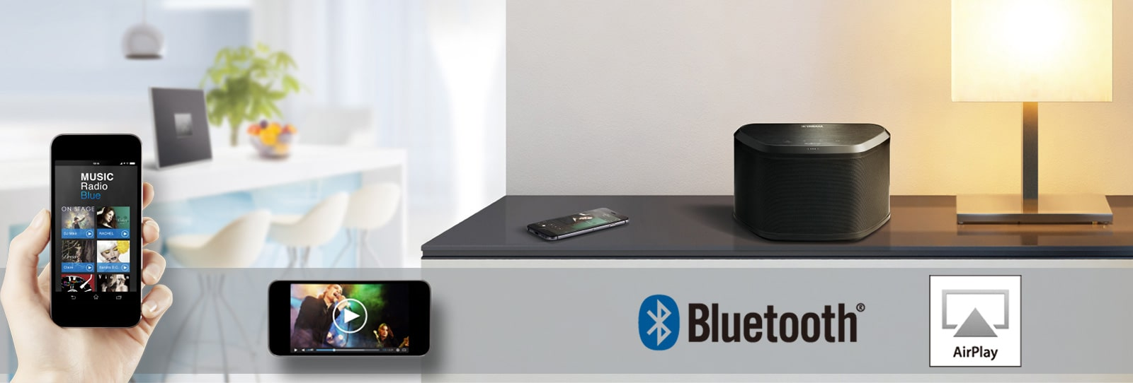 Yamaha MusicCast : Bluetooth & AirPlay
