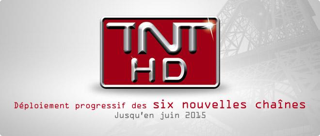 TNT : déploiement des six nouvelles chaînes