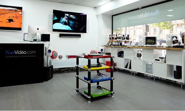 Photo du Showroom Son-Vidéo.com Paris 8, avenue de Friedland.