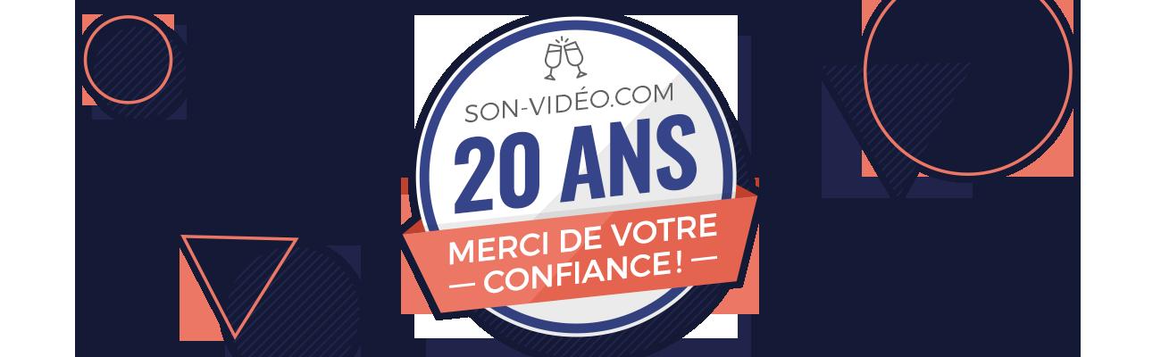Son-Vidéo.com 20 ans