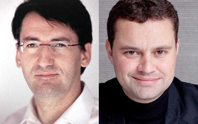Philippe Carré & ÉricJames, fondateurs de Son-Vidéo.com