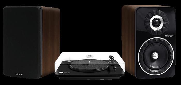 Chaîne vinyle Elipson Alpha 50 + Prestige Facet 6B BT.
