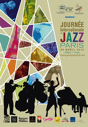 Affiche Journée Internationale du Jazz