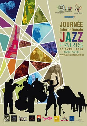 Affiche Journée Internationale du Jazz