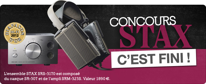 Stax : le concours
