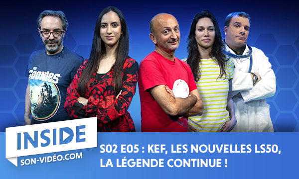 KEF, les nouvelles LS50, la légende continue!