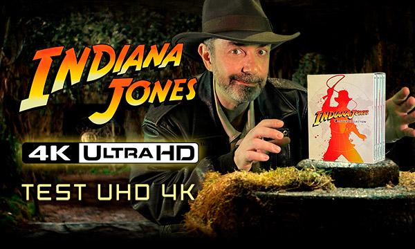 Indiana Jones l'intégrale: test de la quadrilogie Blu-ray UHD4K