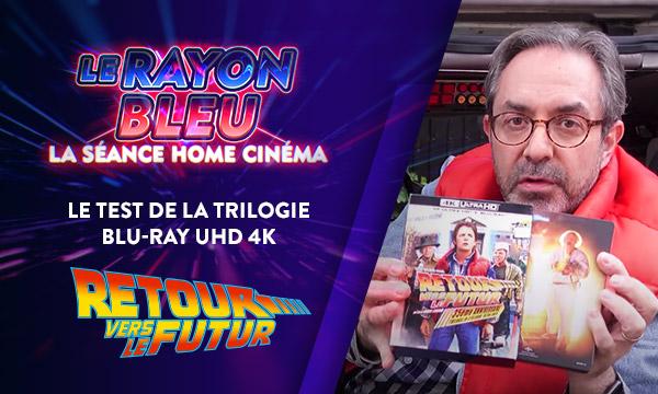 Retour vers le Futur: test de la trilogie Blu-ray UHD4K