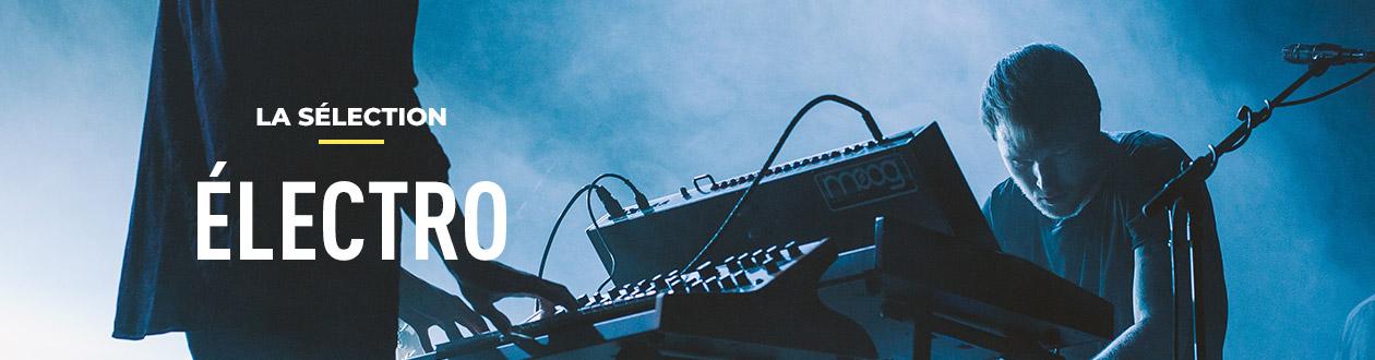 Sélection de disques audiophiles vinyles                     Electro