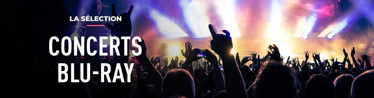 Sélection de Disques Blu-ray de concerts