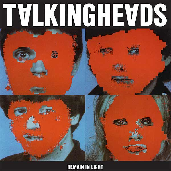Couverture de l'album de Talking Heads - Remain In Light.