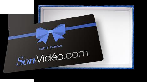 Une carte cadeau Son-Vidéo.com d'une valeur de 500€.