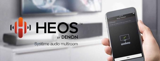 Denon Heos : Syst�me sans fil multiroom