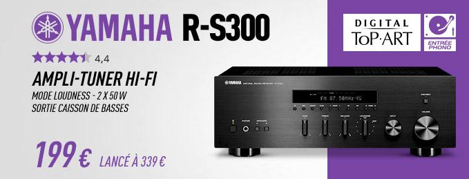 Yamaha R-S300 : Ampli-tuner Hi-Fi 2x50 Watts