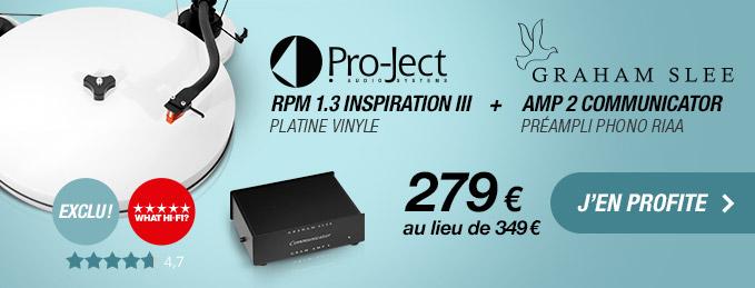 Pro-Ject RPM1.3 + Graham Slee Communicator : Le duo id�al pour profiter de vos vinyles