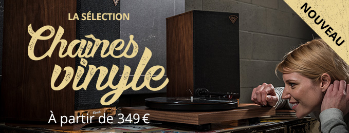 Chaînes hi-fi vinyle : Nouveau : à partir de 349 €
